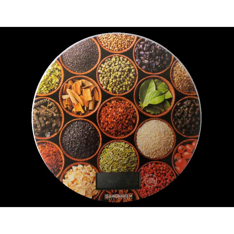 Весы кухонные GRUNHELM KES-1RD (Специи)