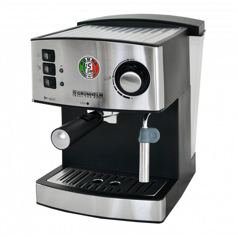 Эспрессо кофеварка GRUNHELM GEC15