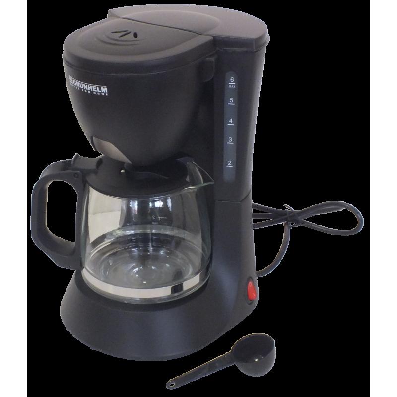 Капельная кофеварка GRUNHELM GDC06 600Вт