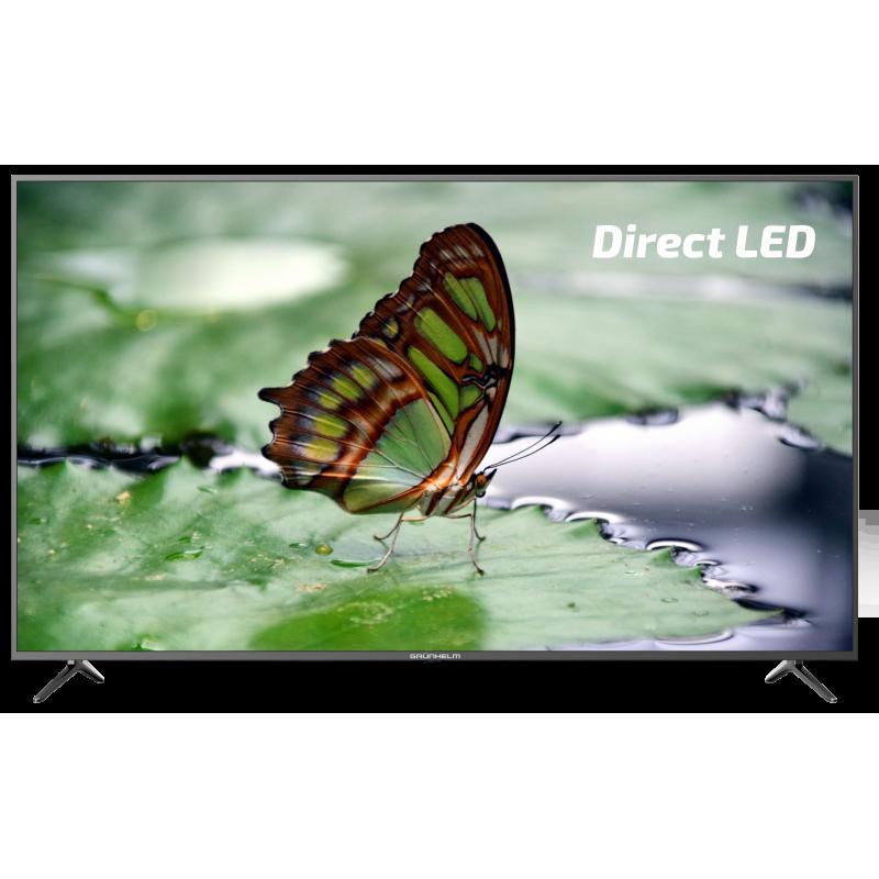 Телевизор GRUNHELM G58USF8G, UHD(4K) SMART мет рамка