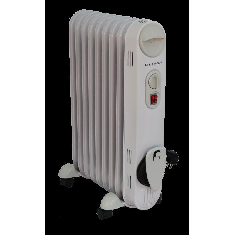 Масляний обігрівач GRUNHELM GR-0920S / 2,0 кВт
